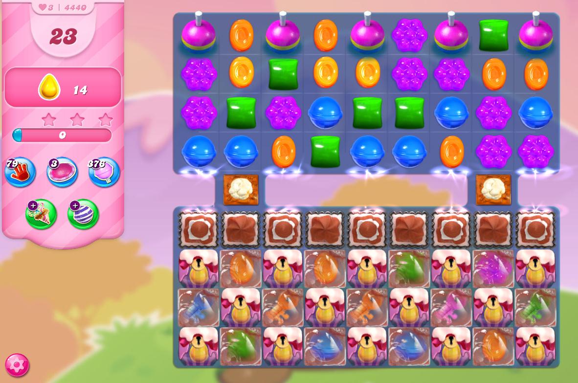 Candy Crush Saga level 4440
