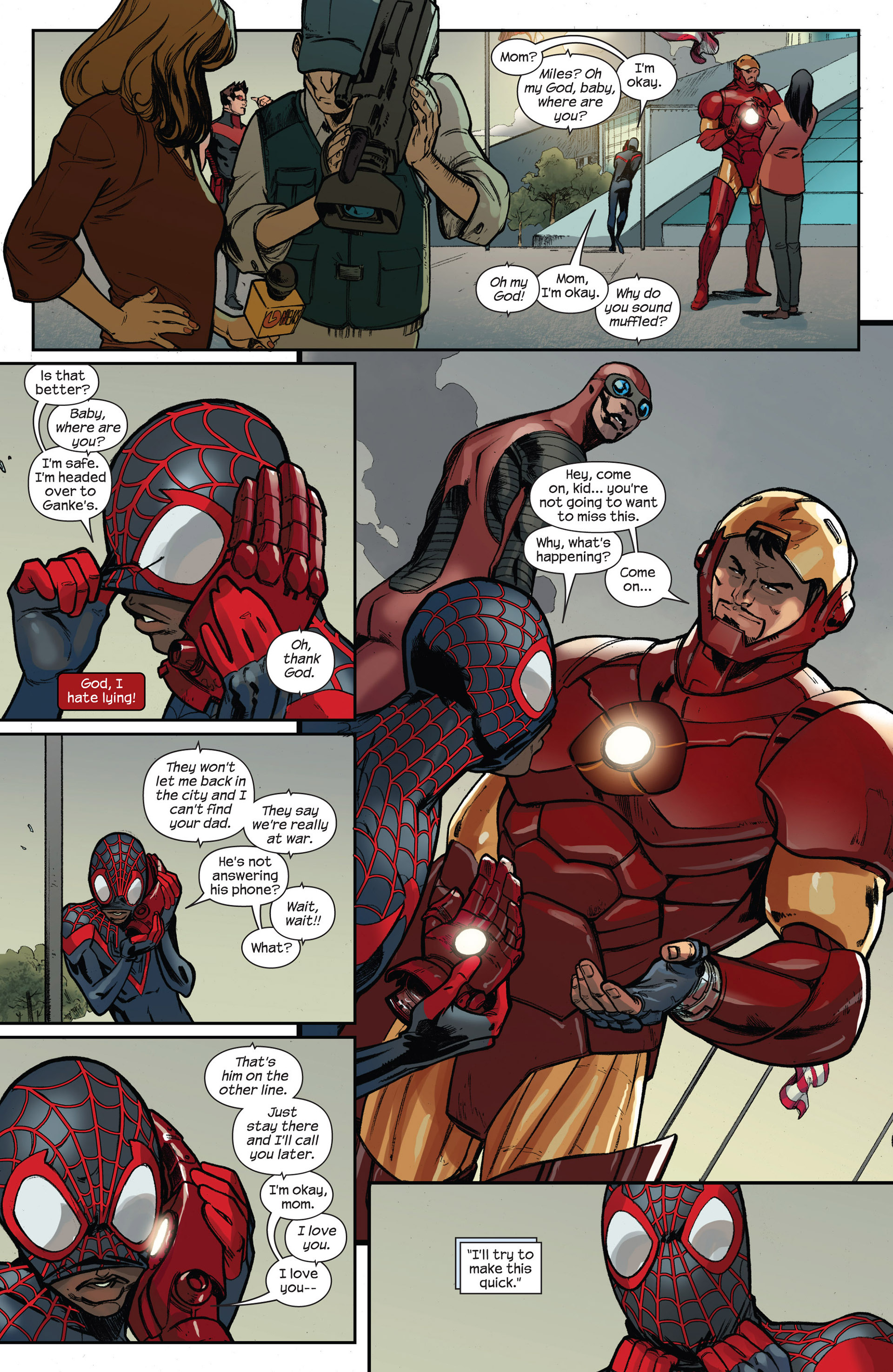 Read online Ultimate Comics Spider-Man (2011) comic -  Issue #16 - 16