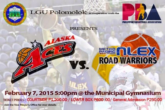 PBA Commissioner's Cup: Alaska vs NLEX in Polomolok