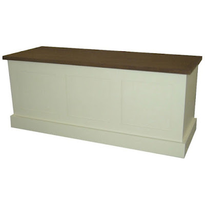 Blanket box teak minimalist furniture with natural color,interior classic furniture.code010103
