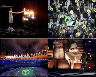 Imprensa internacional destaca cerimônia de abertura da Olimpíada