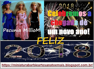 Feliz Ano Novo! Feliz 2018! São os Votos de Pecunia MillioM.