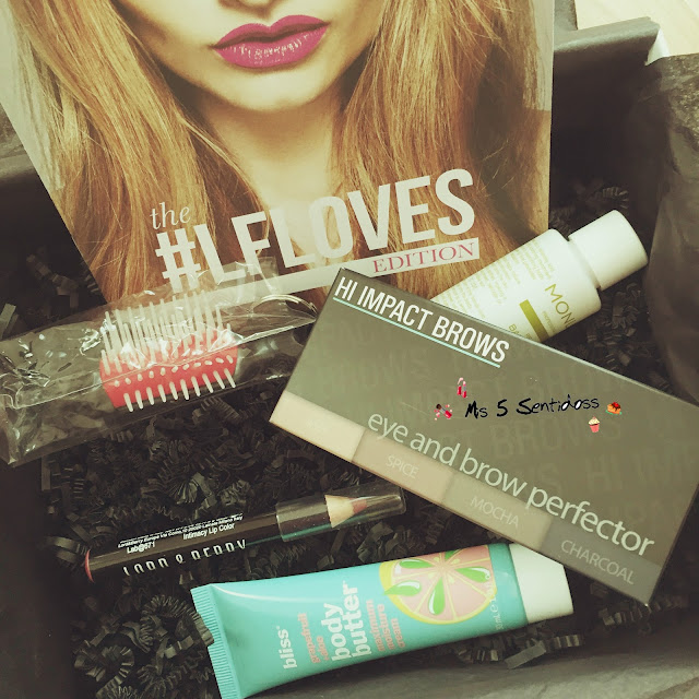 Beauty Box de Lookfantastic Febrero