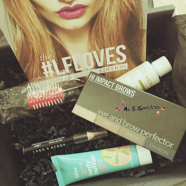 Beauty Box de Lookfantastic Febrero
