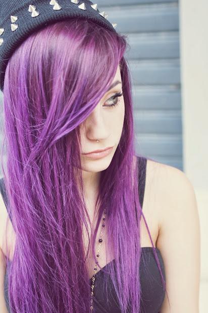 emo scene purple and alternative