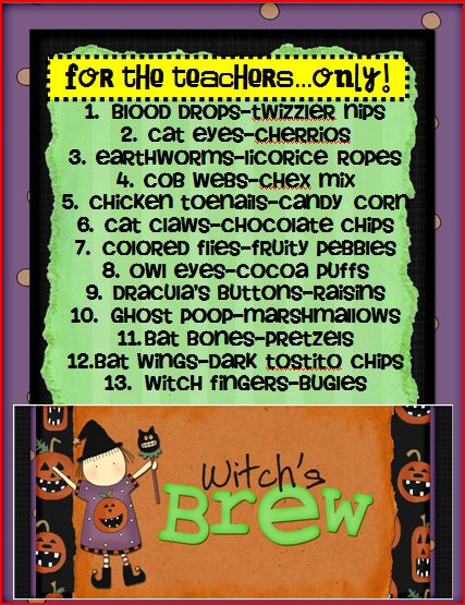 Seusstastic Classroom Inspirations Witches Brew Freebie
