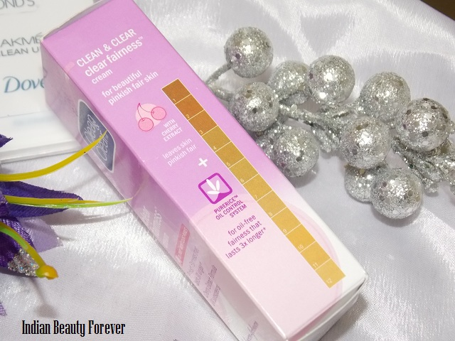 Clean and Clear Fairness Cream review and shades