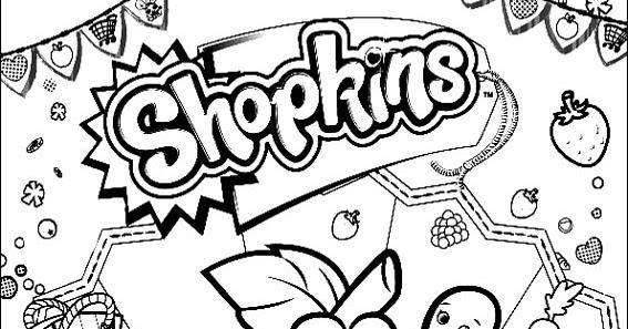 desenhos para imprimir colorir e pintar shopkins desenhos para