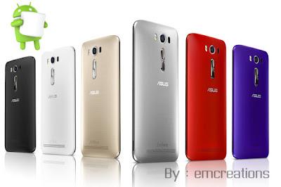Asus Zenfone 2 Laser Mendapatkan Update OS Marshmallow