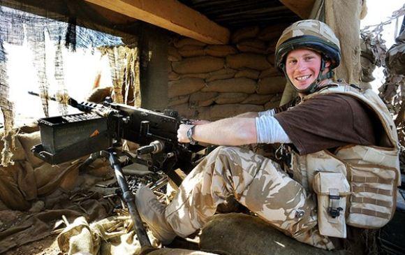 Pangeran Harry wajib militer di Afghanistan