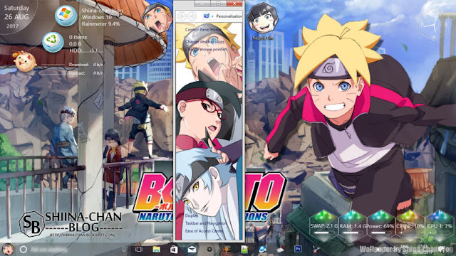 Boruto: Naruto Next Generations Theme Win 10 Ver. 1709 by Enji Riz Lazuardi