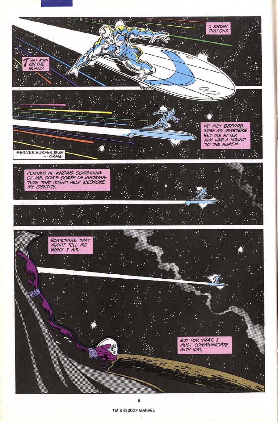 Read online Silver Surfer (1987) comic -  Issue #60 - 10