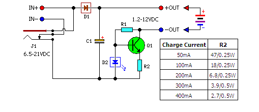 A Low Cost Universal Charger Circuit Diagram