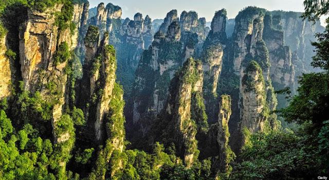 Resultado de imagem para Florestal Zhangjiajie