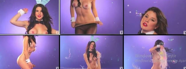 Seksi Amanda Cerny Çırılçıplak  -ünlü ifşası