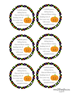 Pumpkin Kisses Halloween Gift Idea