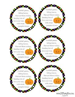 Pumpkin Kisses Halloween Gift Idea