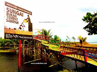 Jembatan Laguna Pantai Sawangan