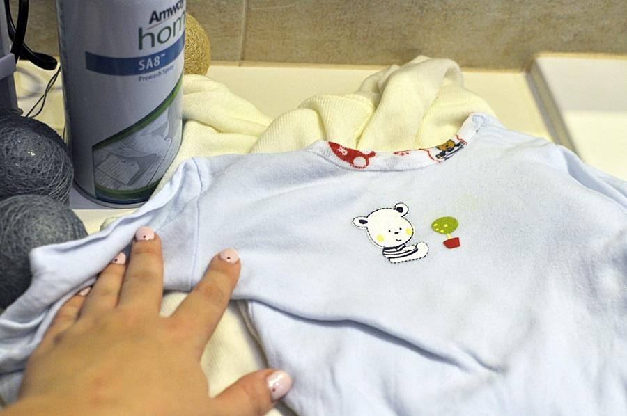 zupka dla dzieci czym wywabic plamy - test odplamiacza amway