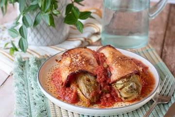 Endives au roti et tomates