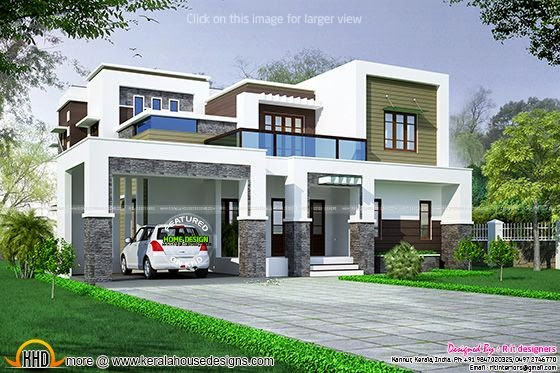 Square roof house
