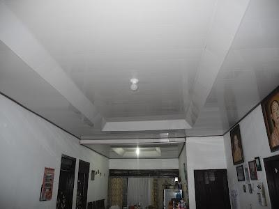 Hasil Pemasangan Shunda Plafon di Rumah Bapak Suprapto