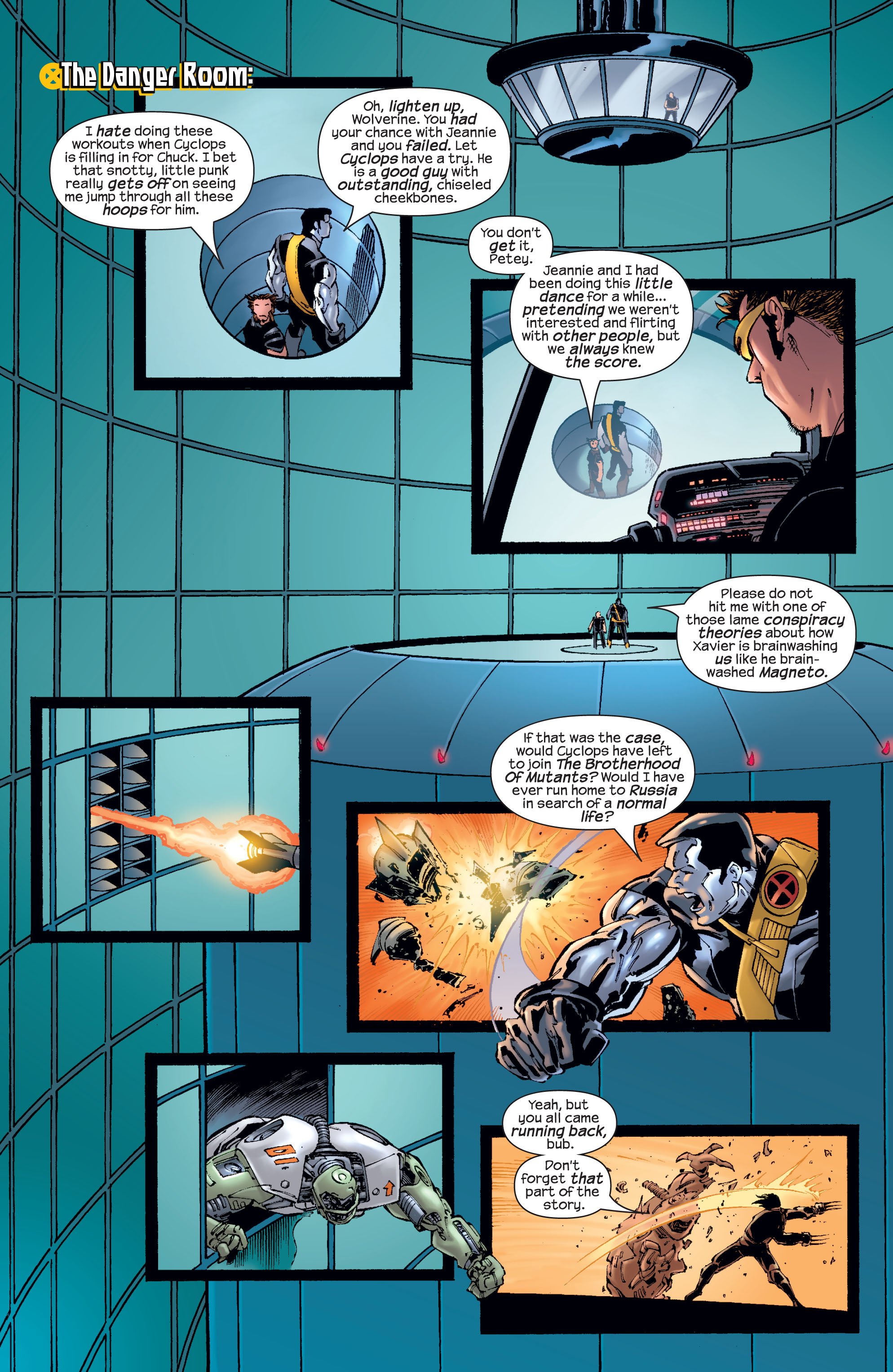 Read online Ultimate X-Men comic -  Issue #21 - 14
