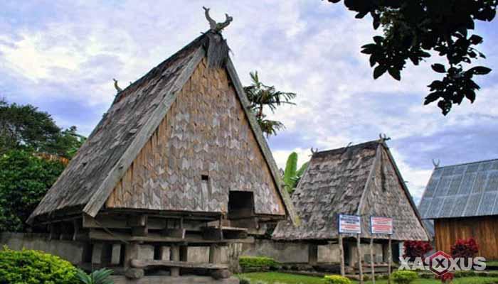 Gambar rumah adat Indonesia - Rumah adat Sulawesi Tengah atau Rumah Tambi