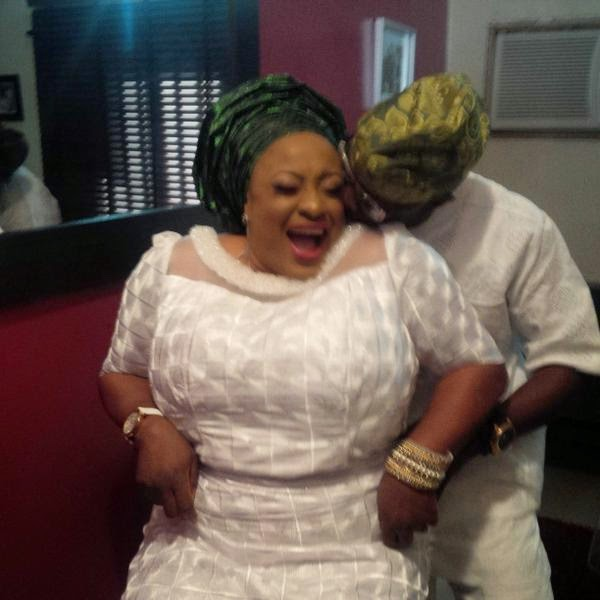 foluke daramola wedding anniversary