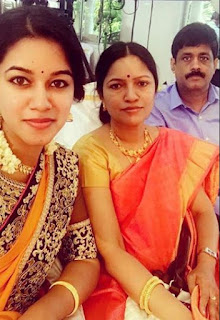 Mirnalini Ravi Family Husband Parents children's Marriage Photos