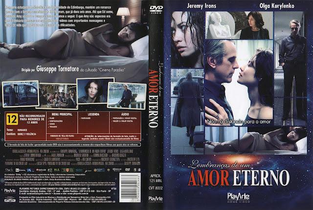 Capa DVD Lembranças de um Amor Eterno