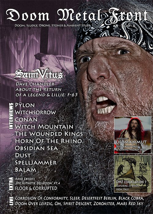 Doom Metal Front #9 - 1st PRINT EDITION out now!!! - Forum Spirit of