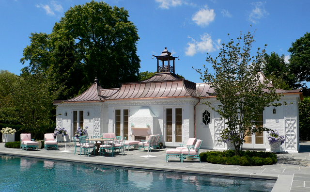 Calling It Home Pool Pagoda And Patio