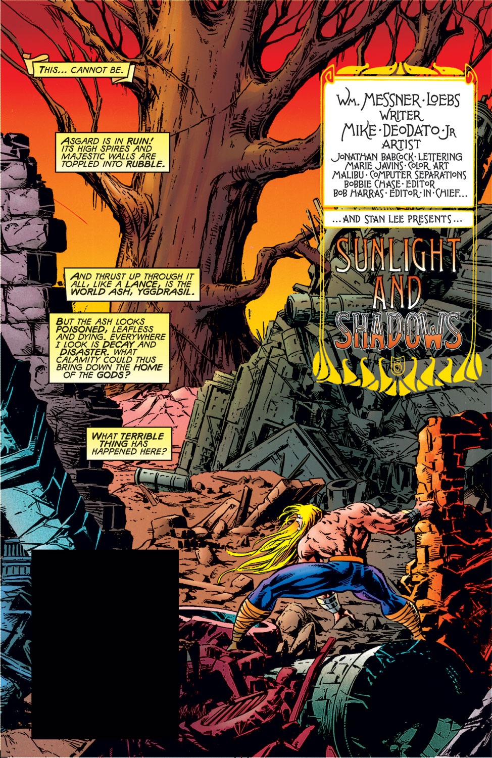 Read Online Thor 1966 Comic Issue 500