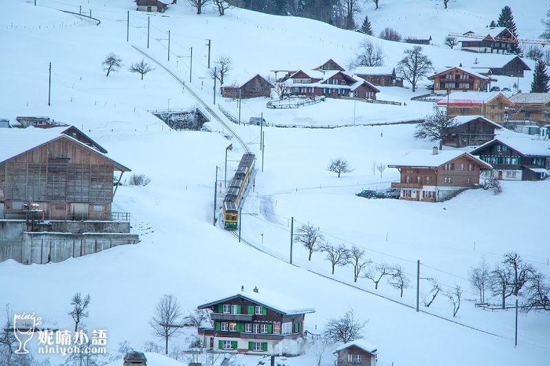 【坐火車遊瑞士】格林德瓦 Grindelwald。全世界最美童話小鎮漫遊實境
