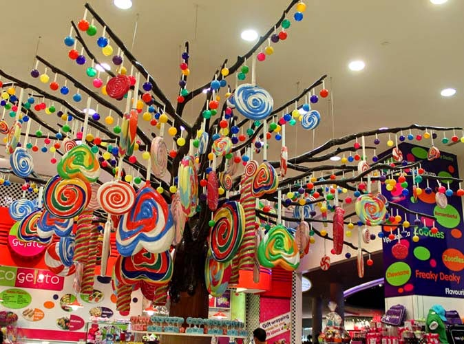 Stock Pictures: Candy Shops In Dubai