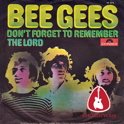 Lirik dan chord Don't Forget To Remember - Bee Gees