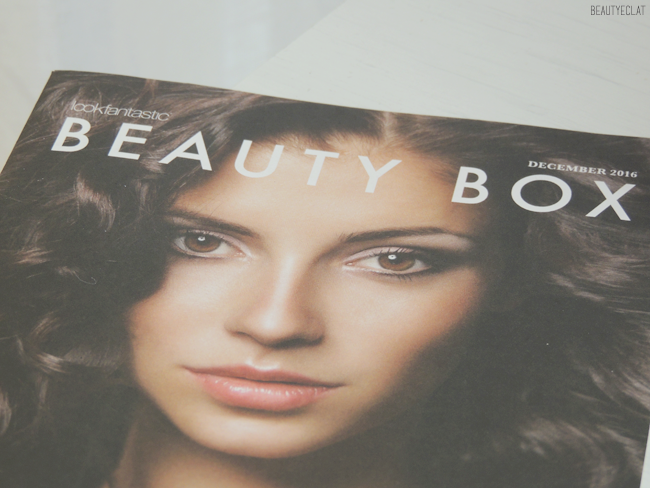 Lookfantastic Beauty box decembre 2016 christmas xmas edition revue avis test