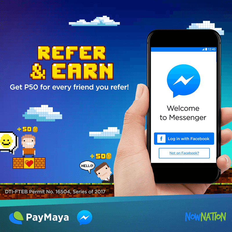 You and your friends can earn up to PHP 1,250 from PayMaya!