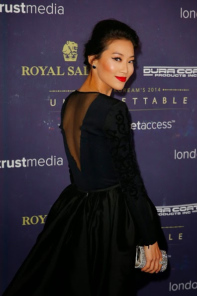Arden Cho TACORI 2014 Unforgettable Awards