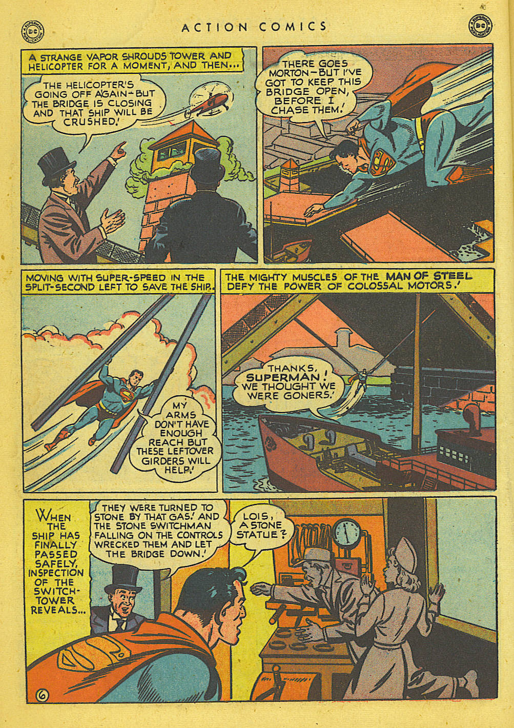 Read online Action Comics (1938) comic -  Issue #135 - 7