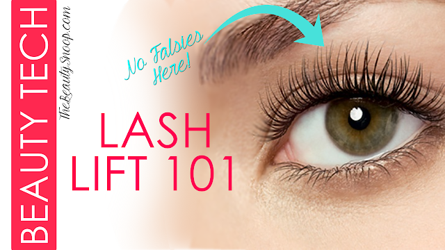LUSH LASHES WITHOUT THE GLUE: LASH LIFT 101