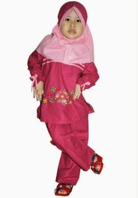 gaya baju muslim anak modern