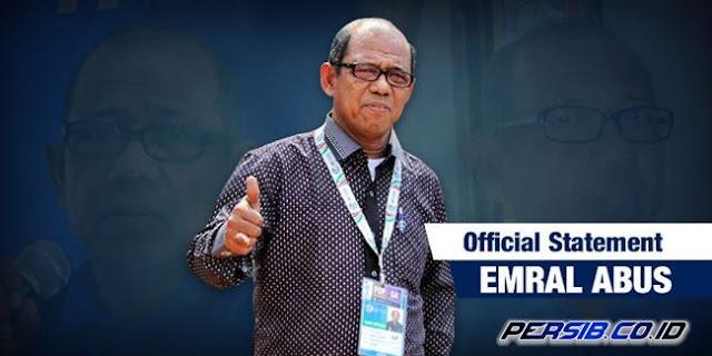 Sosok Emral terang tak abnormal lagi bagi Persib Bandung Berita Terhangat Persib Bandung Resmi Umumkan Emral Abus Sebagai Pelatih Baru