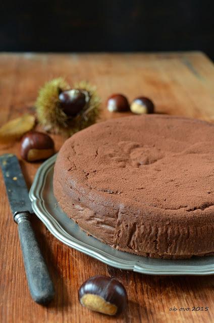 Torta-di-castagne-e-cioccolato-al-rhum