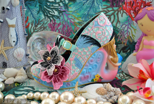 Irregular Choice Aquata mermaid shoes