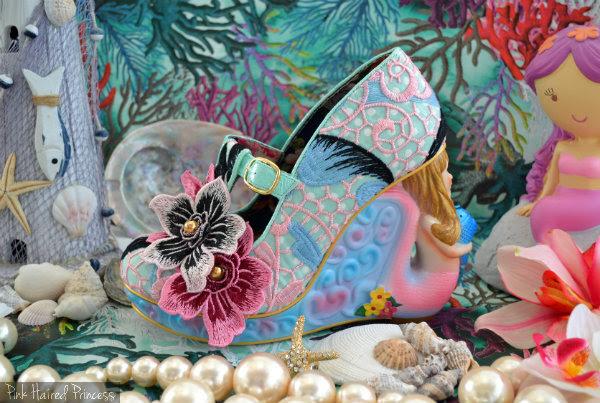 Irregular Choice Aquata mermaid shoes