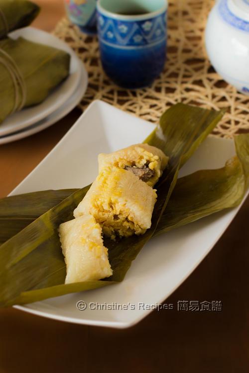 鹹肉粽 Cantonese Rice Dumplings