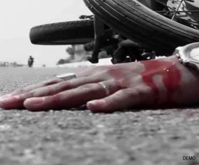नालंदा में ट्रक से कुचल बाइक सवार छात्र की मौत
