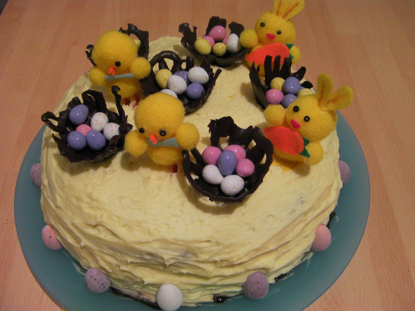 easter cake for school competition